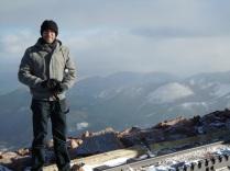 J on the summit