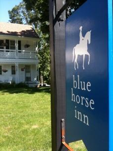 Blue Horse Inn wine drinking and writing retreat