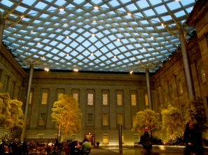 Kogod Courtyard, National Portrait Gallery, Washington, DC